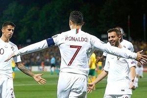 Ronaldo lập kỷ lục ấn tượng khi 'phá lưới' tới 150 đội bóng