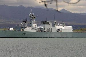 Lần thứ 3 trong vòng 1 tháng, Canada điều chiến hạm đi qua eo Đài Loan