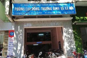 Vì sao nữ Phó cơ quan Tổ chức - Nội vụ thành phố Quảng Ngãi bị bắt?