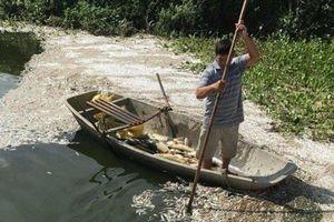 Công an vào cuộc vụ hơn 4 tấn cá chết bất thường ở Hải Dương