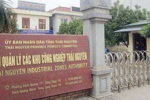 Đấu thầu tại BQL các dự án ĐTXD KCN Thái Nguyên: Chọn thầu xong cho gói thầu bị kiến nghị