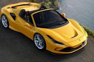 Siêu xe Ferrari F8 Spider chính thức trình làng