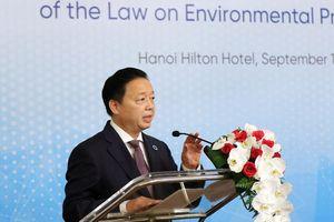 Bộ TN&MT tham vấn đối tác quốc tế về định hướng chính sách trong Luật Bảo vệ môi trường sửa đổi, bổ sung