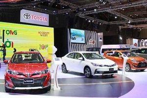 Thị trường ô tô 8 tháng: Tăng mạnh cả xe nội và xe ngoại