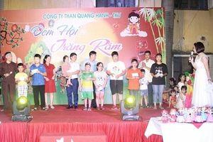 Tưng bừng 'Đêm hội trăng rằm' tại Công ty than Quang Hanh
