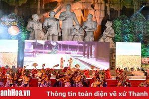 Trò diễn Xuân Phả được trình diễn tại Lễ hội Thành Tuyên 2019