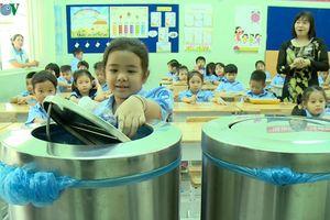 Nhiều trường học tại TP HCM nói không với rác thải nhựa