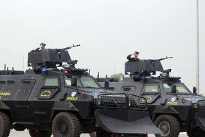 Ngắm dàn xe 'khủng' chống khủng bố, bạo động của Công an Hà Nội