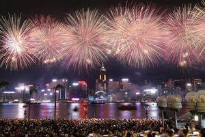 Hong Kong có thể hủy bắn pháo hoa mừng Quốc khánh Trung Quốc