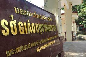 Khởi tố thêm tội danh nhận hối lộ trong vụ án gian lận thi cử tại Hòa Bình