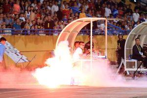 Trưởng ban kỷ luật VFF: CĐV Nam Định không phải đốt mà là bắn pháo sáng