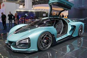 Siêu xe Hồng Kỳ lần đầu xuất hiện ở Frankfurt Motor Show 2019 khiến giới chơi xe 'lóa mắt'