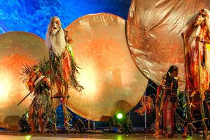 300 nghệ nhân, diễn viên trình diễn cồng chiêng tại Quy Nhơn