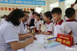 Hà Nội: Khám sức khỏe cho học sinh trong khu vực ảnh hưởng vụ cháy Cty Rạng Đông