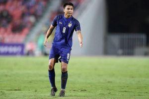 Thitiphan chấn thương, tuyển Thái Lan nguy cơ mất trụ cột chính khi tái đấu Việt Nam?