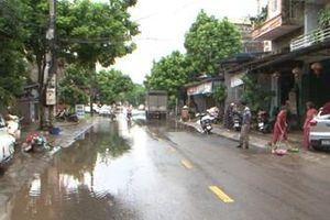 Thành phố Thái Nguyên: Khắc phục hậu quả sau mưa bão