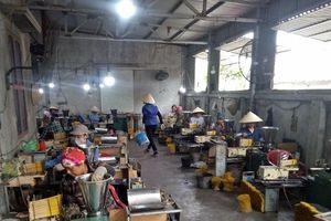 Các hộ dân sản xuất hương nhang 'lao đao' bên bờ vực phá sản