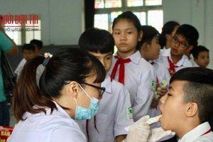 Vụ cháy nhà máy Rạng Đông: Kiểm tra thủy ngân cho học sinh ở Hạ Đình