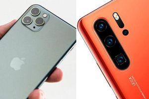 iPhone 11 Pro Max so kè camera với Huawei P30 Pro