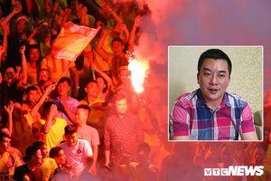 Giám đốc CLB Dược Nam Hà Nam Định: 'VFF phạt thì phải chịu nhưng vô lý quá'