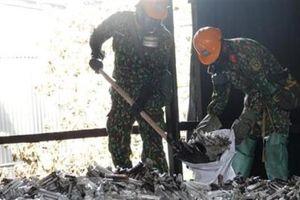 Rải hơn 3,7 tấn chất chống phát tán thủy ngân Rạng Đông
