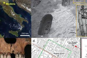 Sự thật gây sốc về 'đôi tình nhân' trong mộ cổ 1.700 năm
