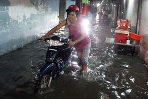 TP HCM nguy cơ ngập nhiều ngày do mưa!