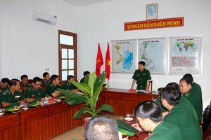 Kiểm tra toàn diện công tác biên phòng tại BĐBP Phú Yên