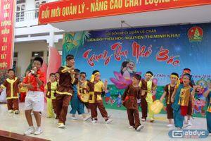 Trung thu nhớ Bác tại Trường tiểu học Nguyễn Thị Minh Khai