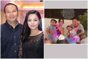Phạm Quỳnh Anh bất ngờ đăng ảnh chồng cũ Quang Huy sau ly hôn
