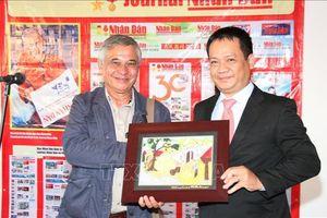 Việt Nam tham dự Hội báo Nhân Đạo năm 2019 tại Pháp
