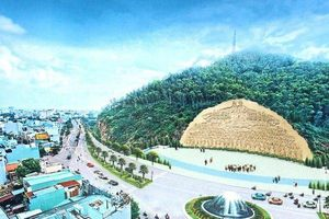 Lo ngại mất an toàn giao thông khi Bình Định tạc bức phù điêu hơn 86 tỷ lên vách núi