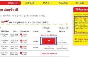 Vietjet: 'Niêm yết giá vé máy bay gộp là không minh bạch'