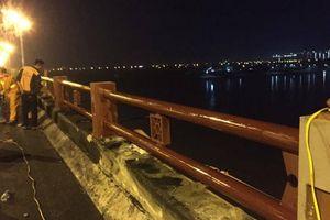 Hà Nội khắc phục hư hỏng trên cầu Thanh Trì sau TNGT