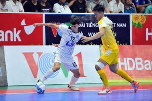 Giải futsal HDBank VĐQG 2019: Thái Sơn Nam chia điểm với Sahako