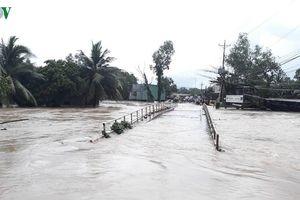 Mưa lớn gây nguy cơ ngập lụt ở ĐBSCL