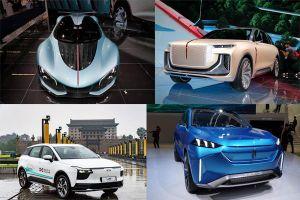 Ôtô Trung Quốc thiết kế lạ ra mắt tại triển lãm Frankfurt