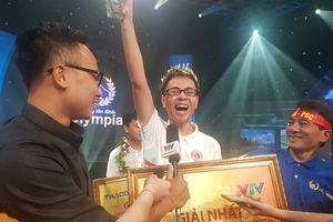 Chàng trai Nghệ An đăng quang Đường lên đỉnh Olympia 2019
