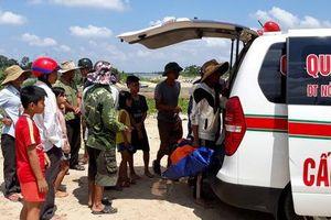 Phát hiện thi thể 2 cha con trên sông Thạch Hãn, người vợ vẫn mất tích