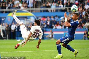 Tinh thần thép của Neymar