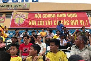 CLB Nam Định vs TP.HCM: An ninh trên sân Thiên Trường được siết chặt chưa từng có