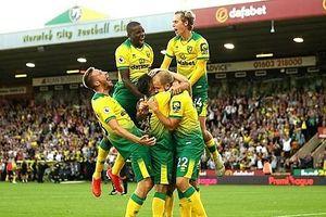Đánh bại Man City, Norwich tạo nên địa chấn tại Carrow Road