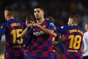 Barca vùi dập Valencia trong ngày thiếu Messi