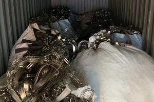 Khởi tố vụ xuất lậu hàng chục tấn phế liệu đồng