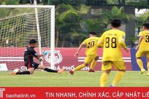 Đánh bại Phố Hiến 4-1, Hồng Lĩnh Hà Tĩnh thể hiện bản lĩnh của nhà vô địch