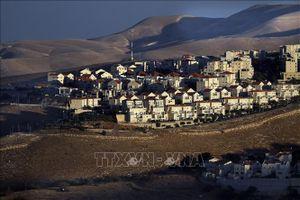Israel phê chuẩn xây dựng một khu định cư mới ở khu Bờ Tây