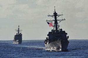 Chiến hạm Mỹ mang tên lửa Tomahawk diễn tập cùng ASEAN trên biển Đông