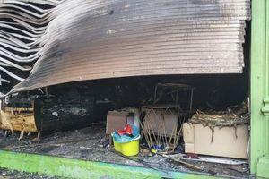 Hà Nội: Cháy lớn ở Đê La Thành, nhiều đồ đạc bị thiêu rụi