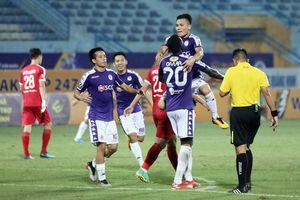 Vòng 23 V-League 2019: Hà Nội FC và SLNA giành chiến thắng đậm
