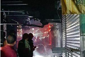 Nguyên nhân vụ cháy khủng khiếp ở chợ Bình Phước khiến 21 kiot bị thiêu rụi